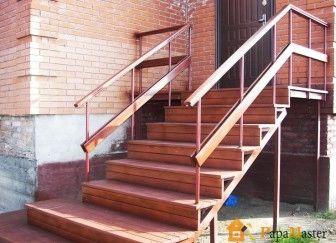 Металлические лестницы фото 2