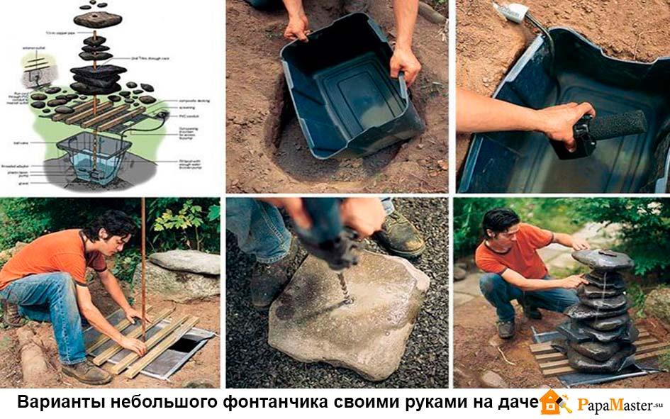 Изготовление фонтанов своими руками 41