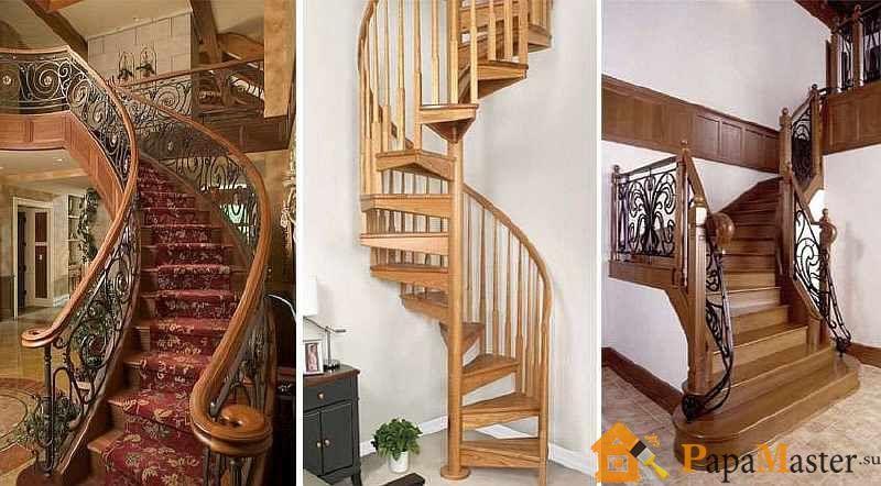 Деревянные лестницы - модификации и цены, монтаж