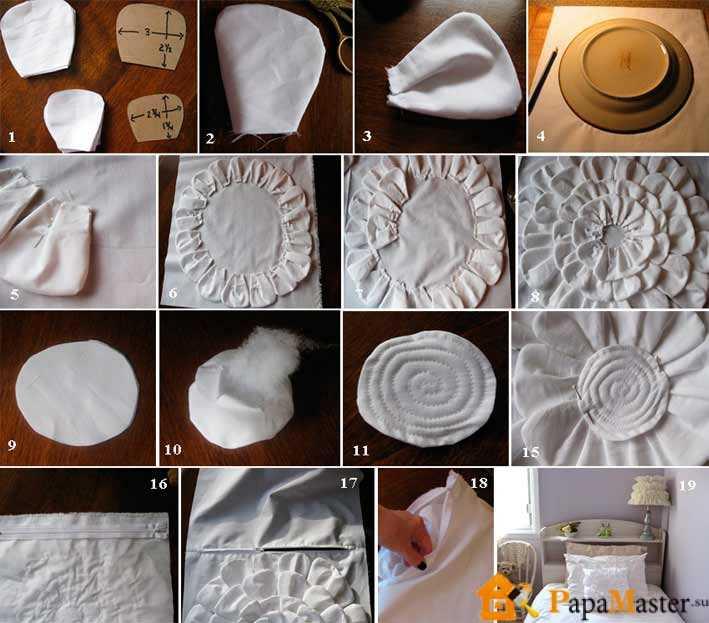 Как сделать подушки в домашних условиях 82