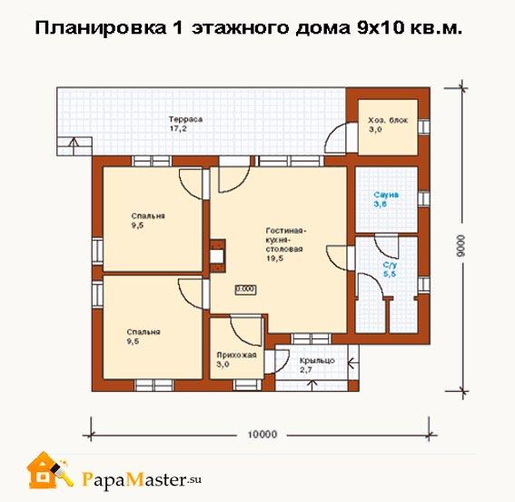 дизайн частного дома фото внутри эконом класс