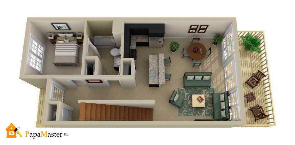 Планировка комнат в доме фото