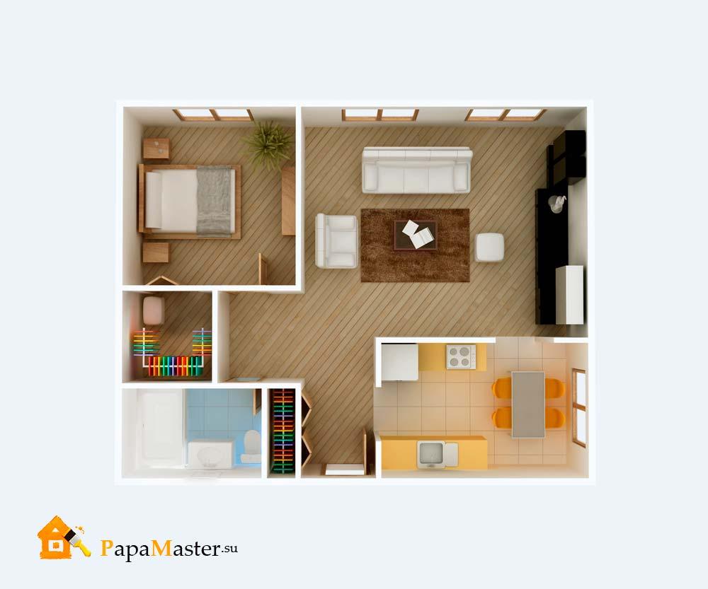 фото домов планировки