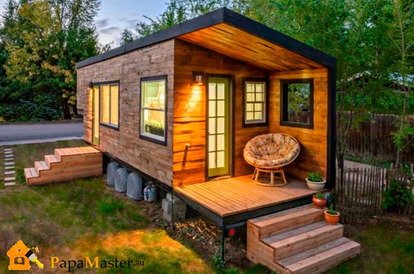 for Kleines wohnhaus aus holz