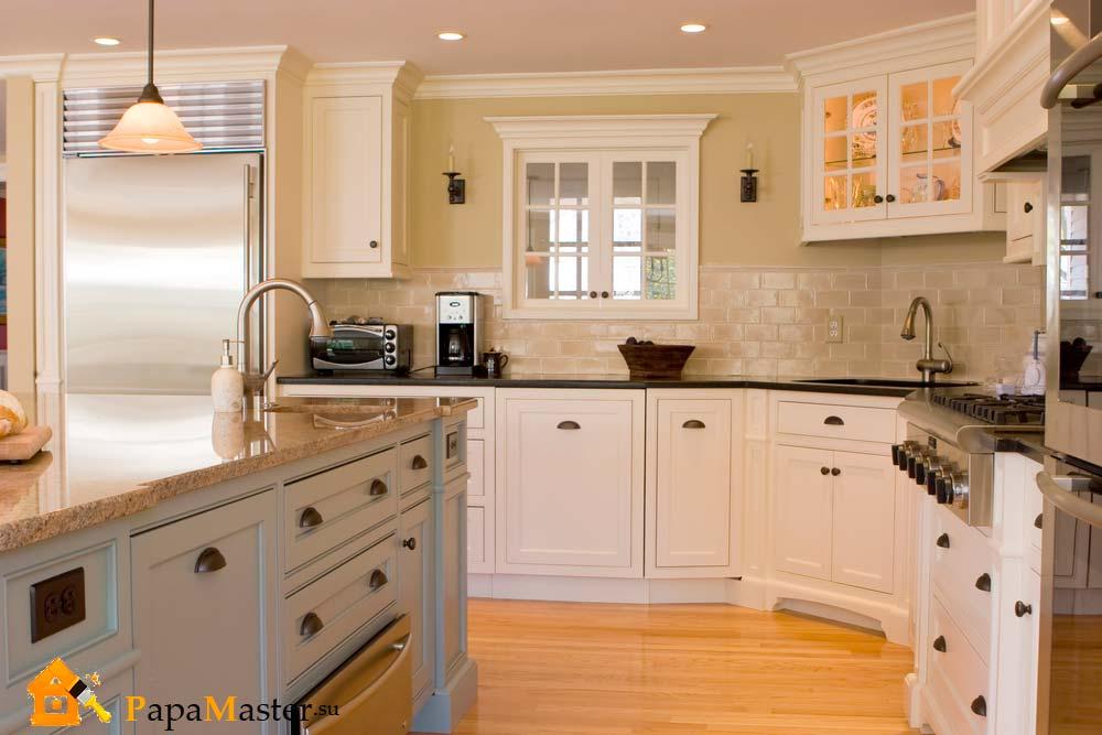 кухни угловые классика фото дизайн