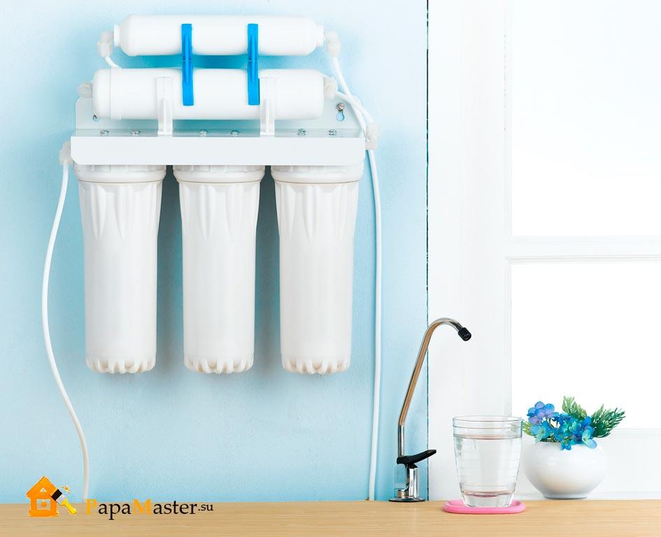 Система очистки воды обратного осмоса