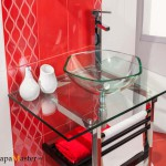 Раковины стеклянные для ванной