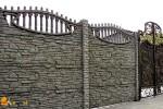 Бетонный секционный забор: описание, монтаж