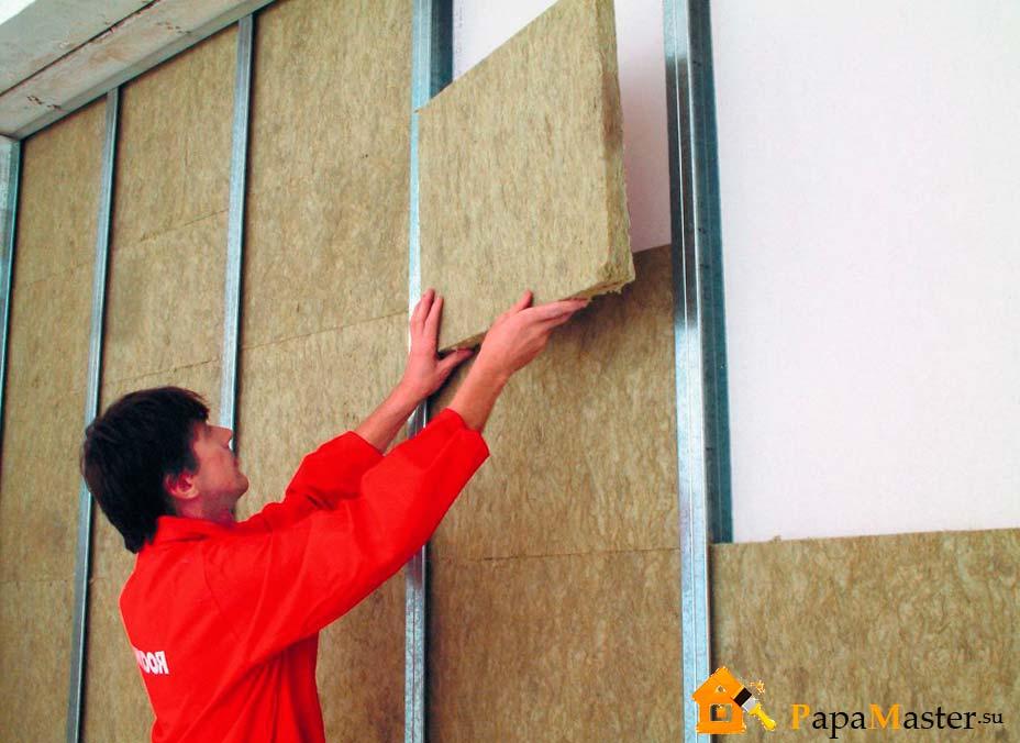 Шумоизоляция стен в квартире материал минватой