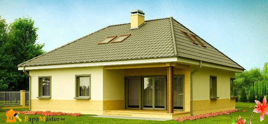 Дома с вальмовой крышей фото