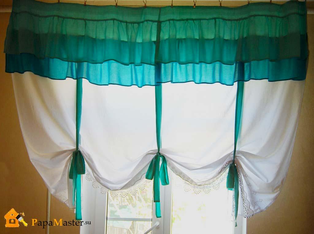 Сшить шторы из атласа своими руками