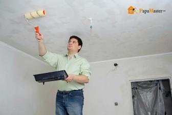 выравнивание и ремонт потолка