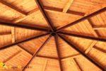 Как правильно монтируется стропильная система шатровой крыши наслонного типа