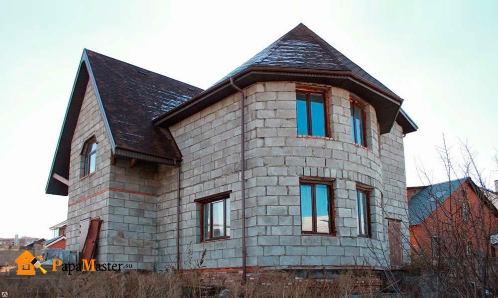Дом из керамзита своими руками