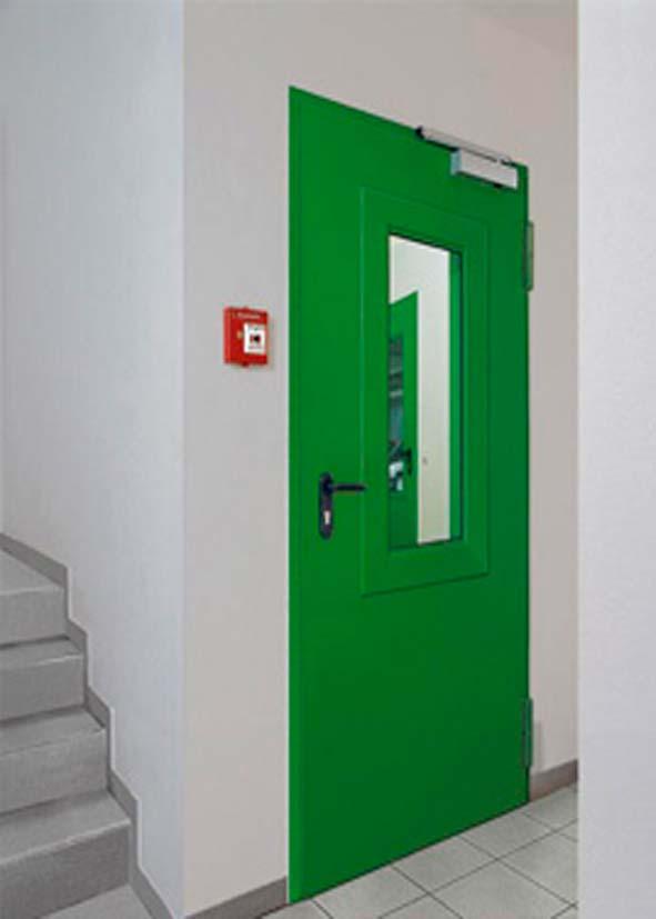 дверь металлическая противопожарная под заказ