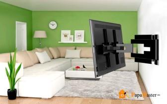 как повесить телевизор на гипсокартон