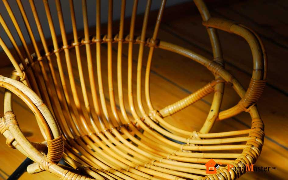 Кресло качалка из пластиковой трубы своими руками