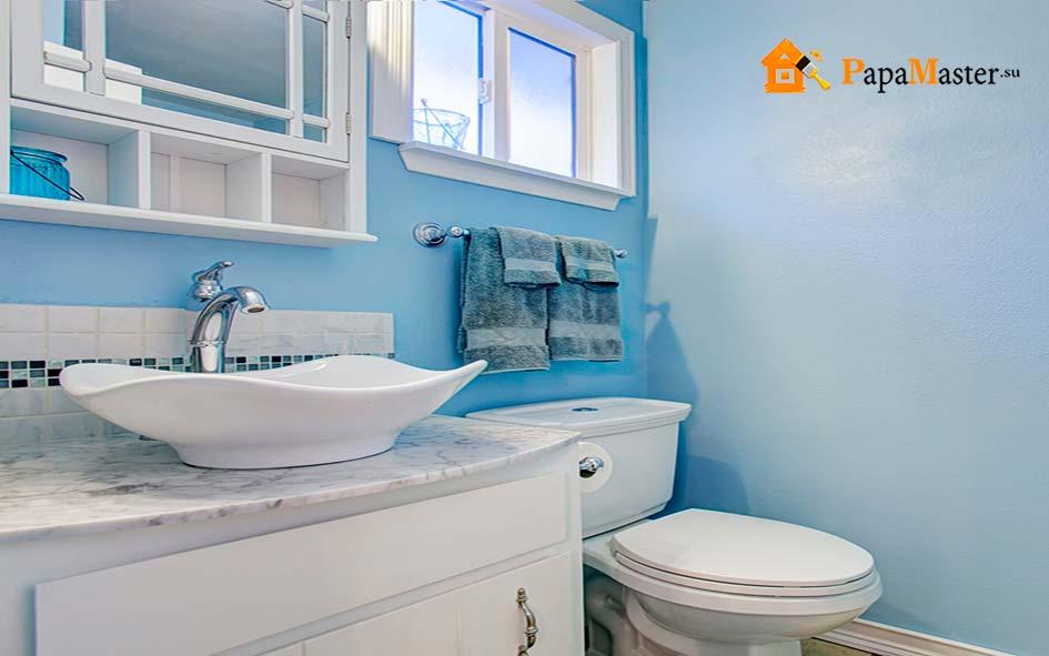 ремонт бюджетной ванной комнаты