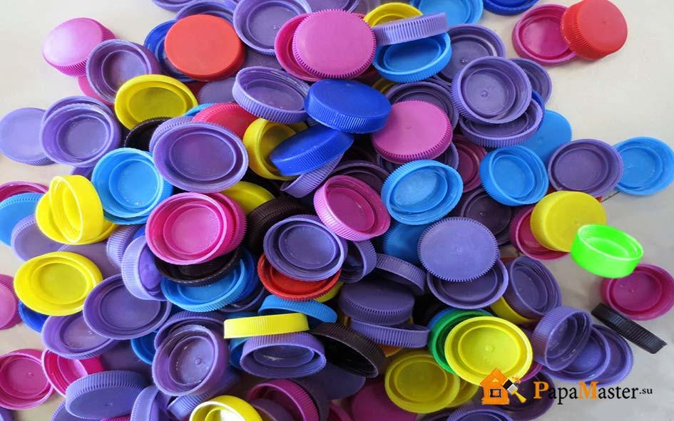 Пластиковые разноцветные пробки