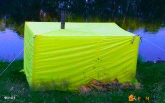 Брезентовая баня-палатка