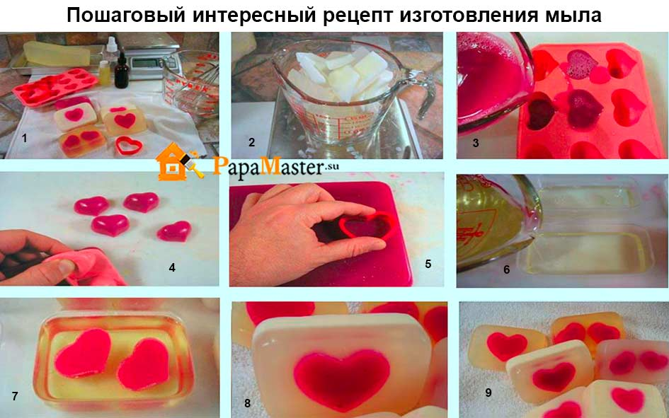 Мыло ручной работы в домашних условиях из детского