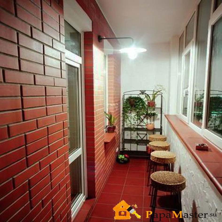 Внутренняя отделка балкона и способы его остекления папа мас.