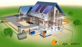 Частный дом система водоснабжения