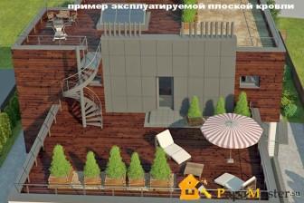 Чем плоская крыша лучше крыши скатной?