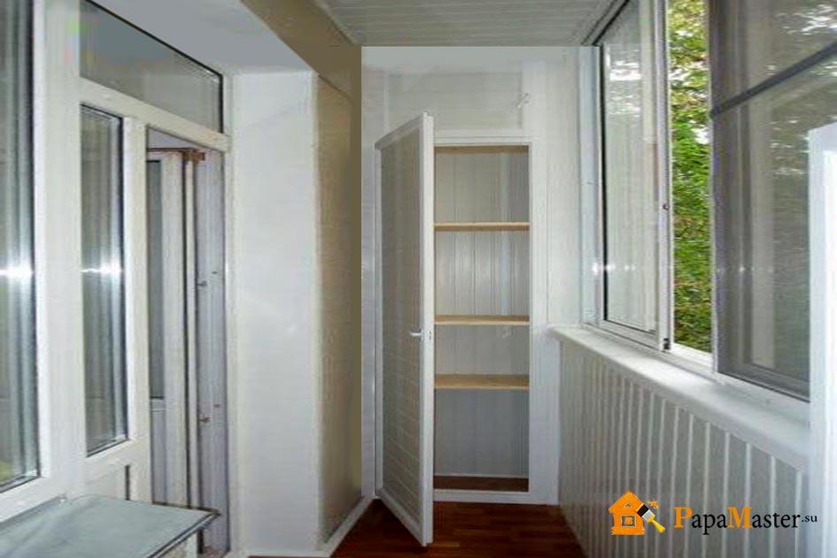 Обшивка балкона пластиковыми панелями фото.