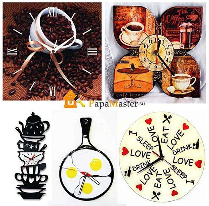 Часы на кухню настенные своими руками