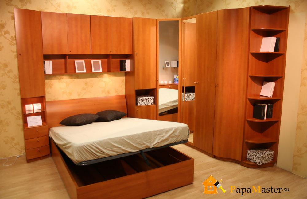 Кровать своими руками встроенная в стену