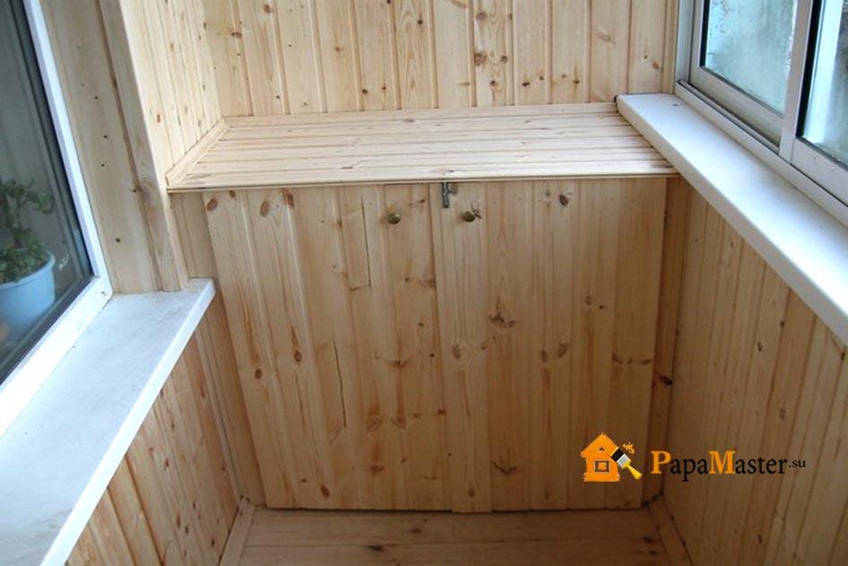 Как вагонкой обшить балкон? обшить балкон вагонкой: цена.