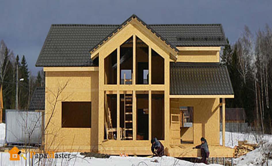 строения из сип панелей