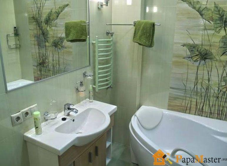 Ванная комната дизайн фото угловая
