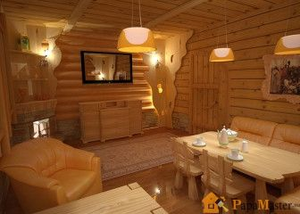 Комната отдыха в бане фото
