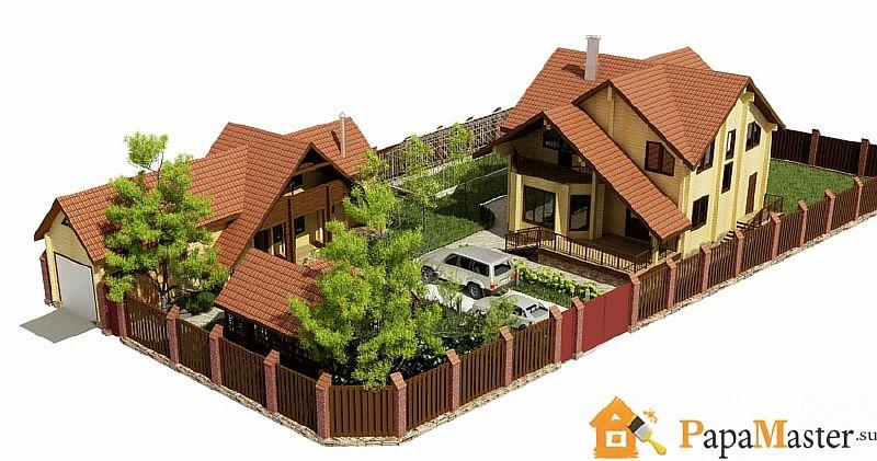 Строительство дома своими руками крыши183
