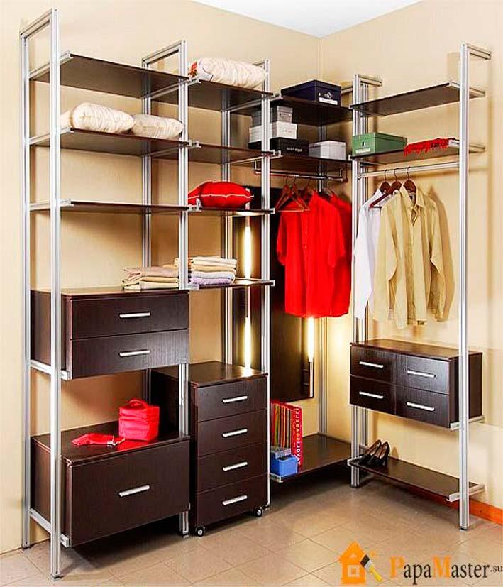 Системы хранения вещей Наполнения для гардероба своими руками