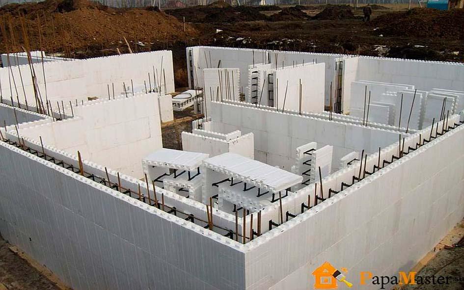 Как строить монолитный дом своими руками