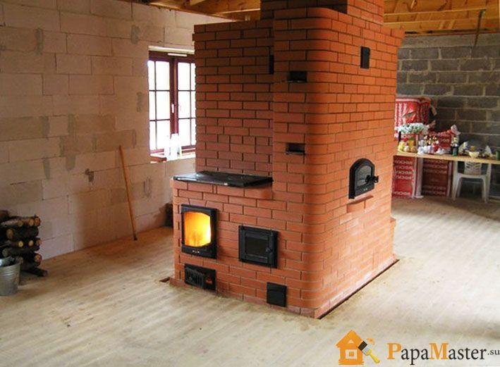Кирпичная отопительная печь для дачи своими руками фото 338