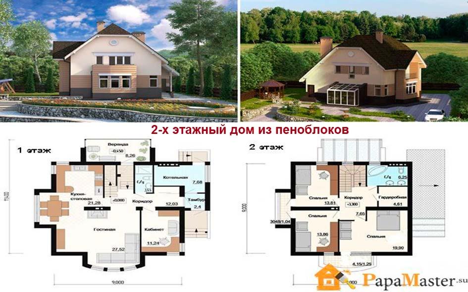 большим членом проект двухэтажного дома из пеноблоков привет Поставки