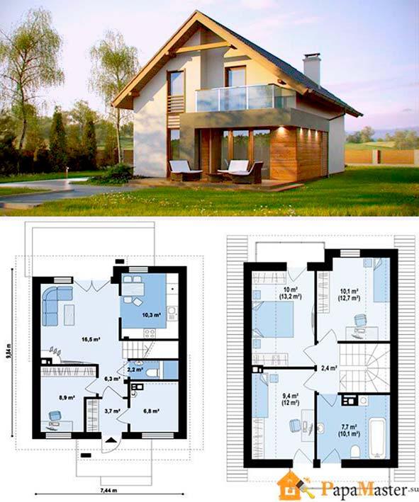 Проект маленьких домов своими руками