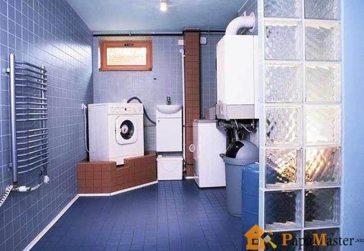 фото котельные в частном доме