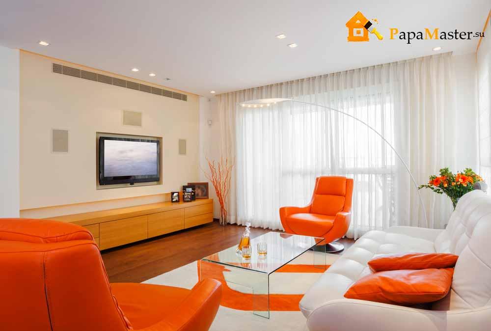 два дивана в гостиной 18 кв.м фото