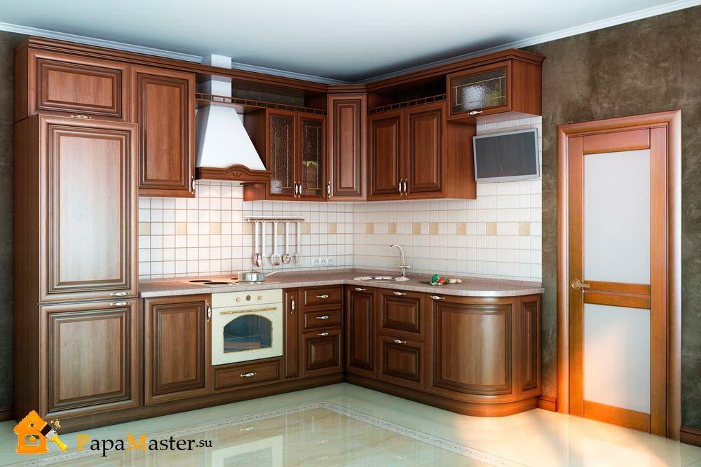 кухни классика фото дизайн угловой