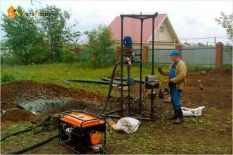 Бурение скважин на воду технология