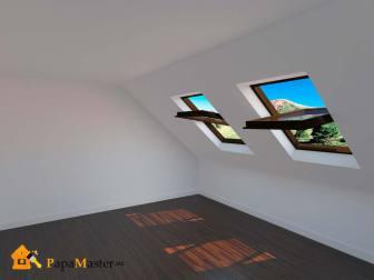 Мансардные окна прямоугольные