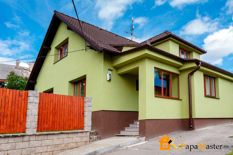Дома цвета