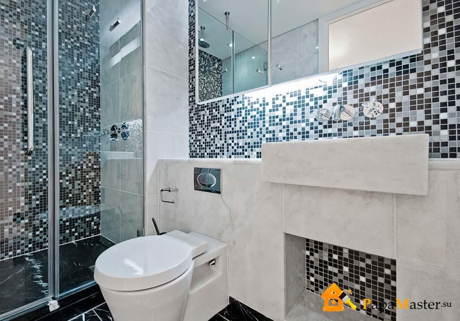 Дизайн-проект ванной комнаты (60 фото пояснения) 31