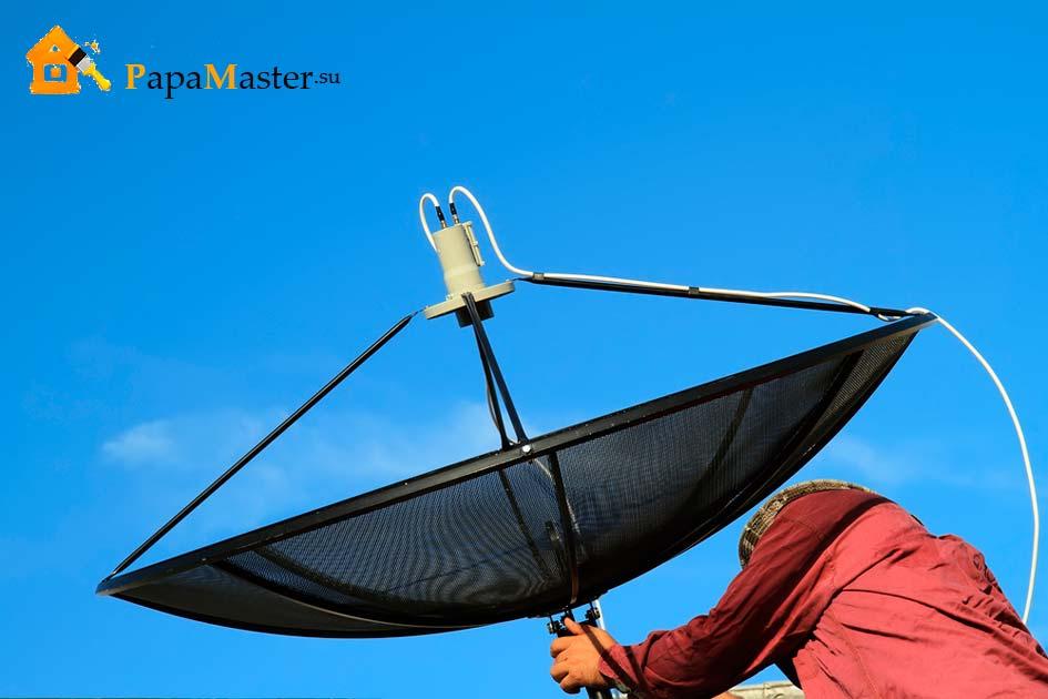 Инструкция по установке спутниковых антенн самостоятельно