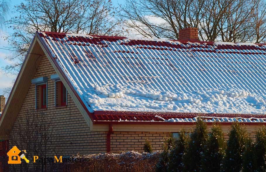 Как и из чего сделать снегозадержание на крыше 236